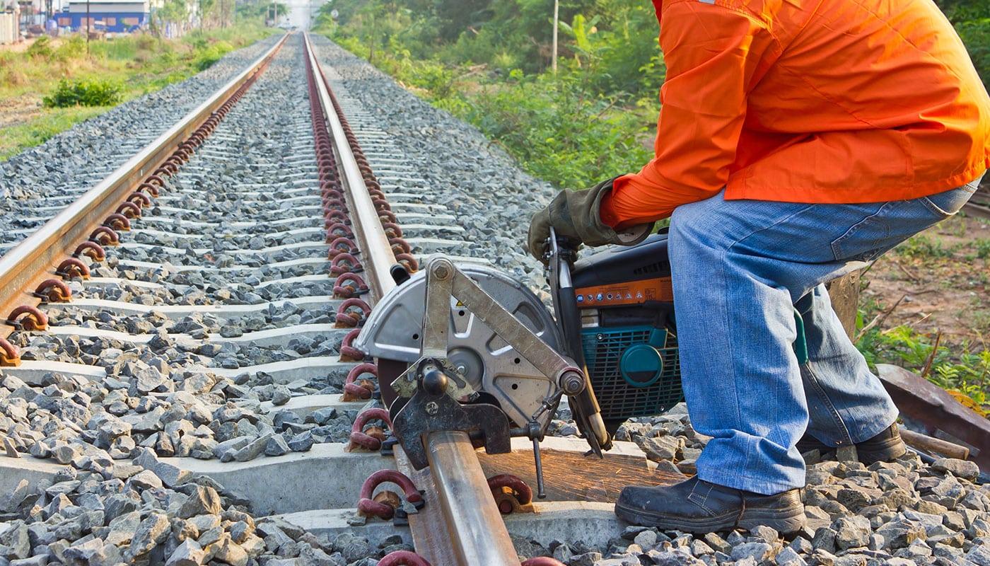 Railroad Maintenance Company | DeQuincy, LA | Vision Industrial
